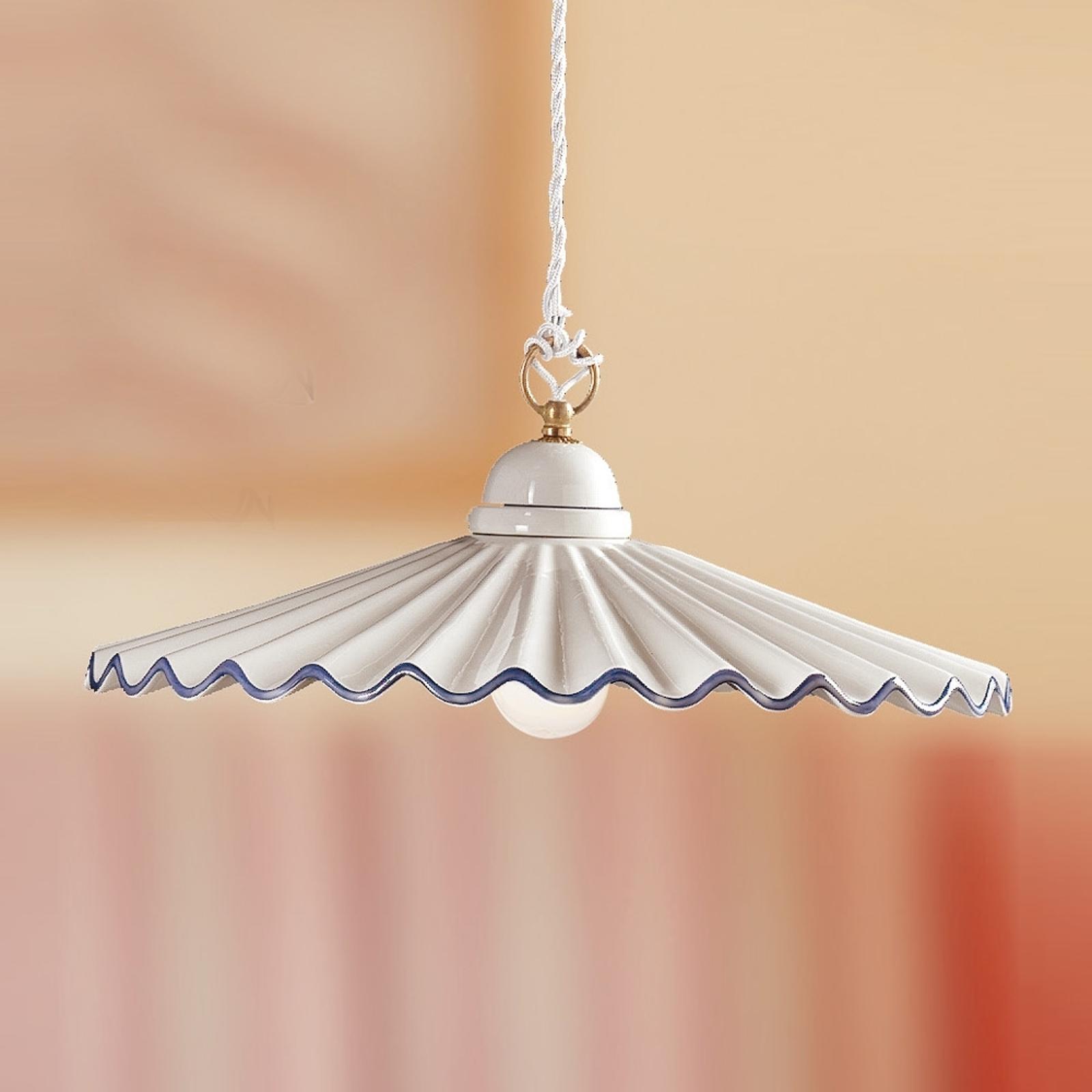 Lampa wisząca PIEGHE w stylu dworkowym 43 cm