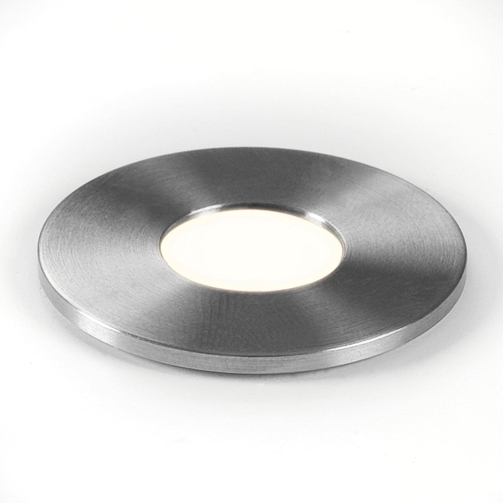 Astro Terra 28 Round LED-innfellingslampe, IP65