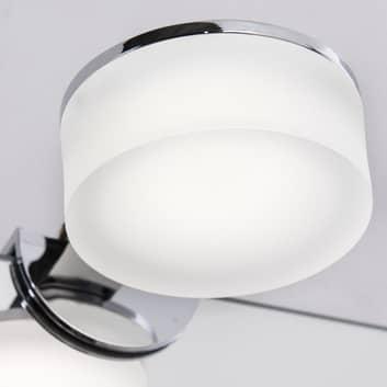 Lámpara de espejo LED acoplable Noah, redonda IP44