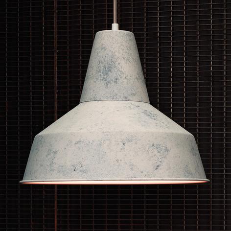 Met wit scherm - hanglamp Berenice