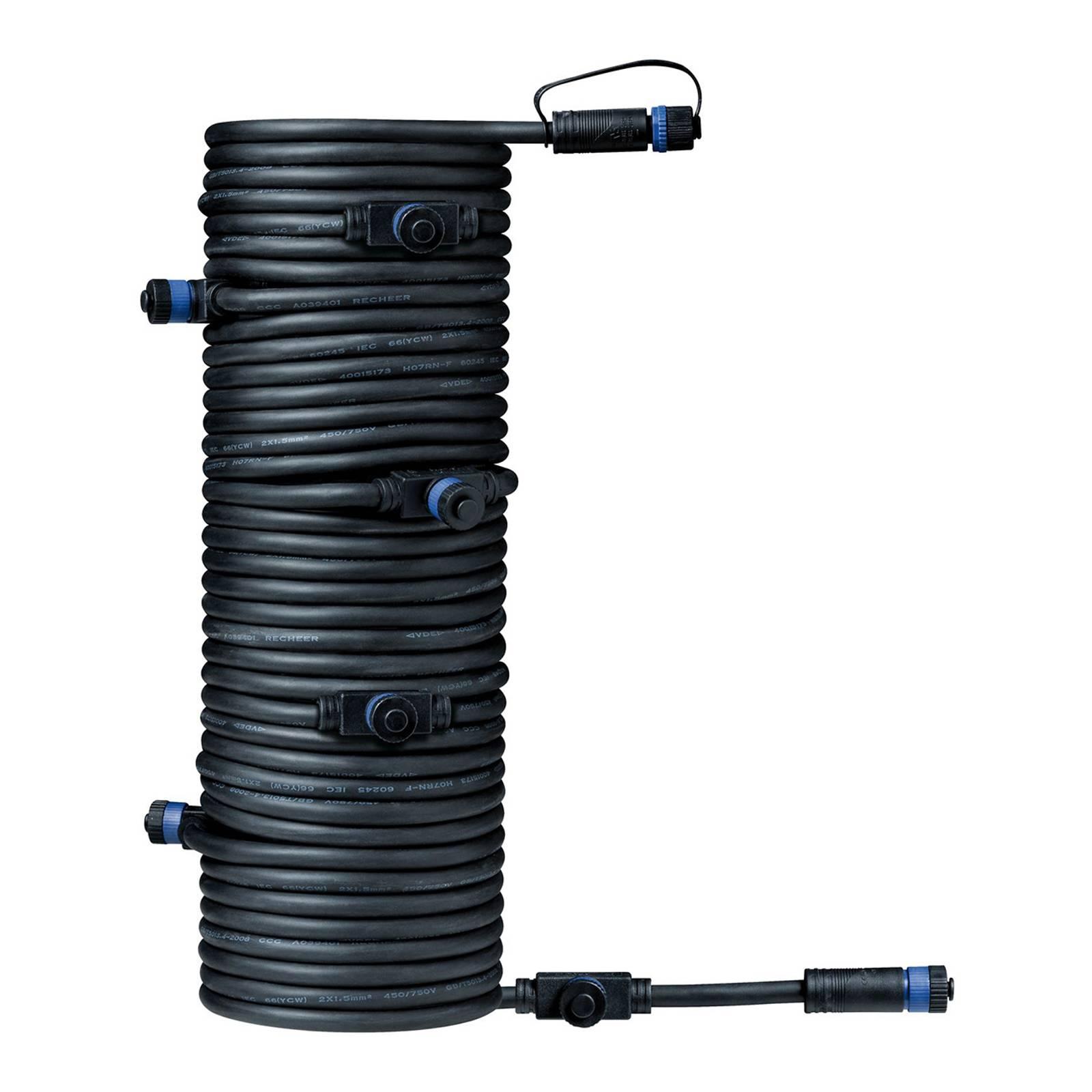 Paulmann Plug & Shine 93931 Kabel 15m, 1 in/7 aus