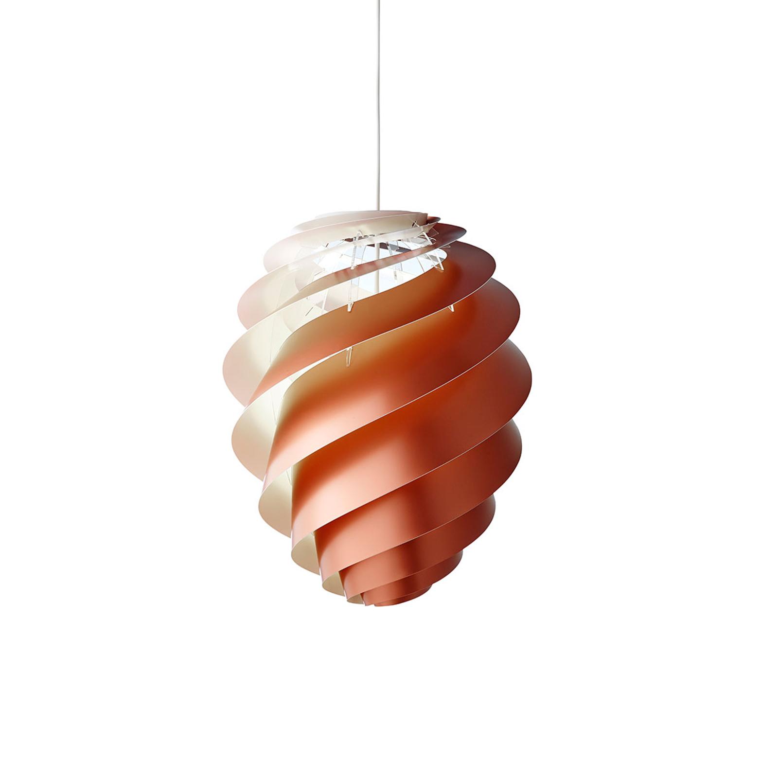 LE KLINT Swirl 2 Small - pendellampa, koppar