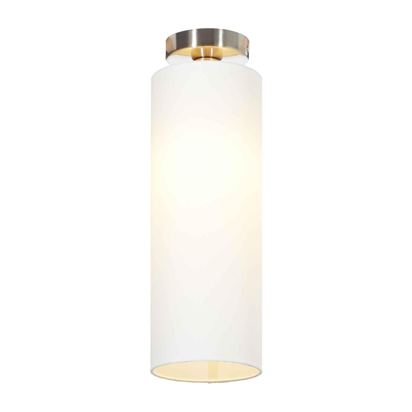 Lucande Patrik taklampe av tekstil Ø15cm hvit