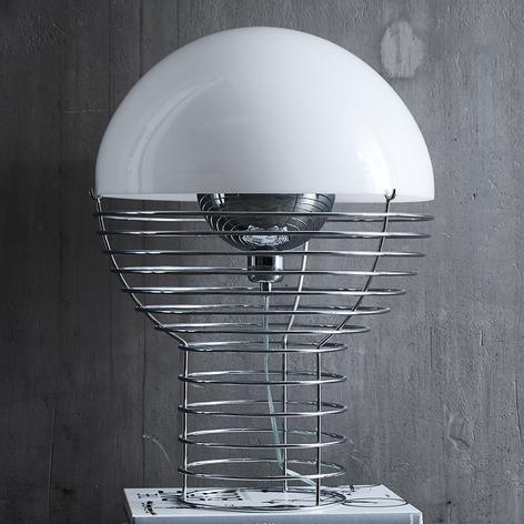 VERPAN Wire Large - lampe à poser, abat-jour blanc