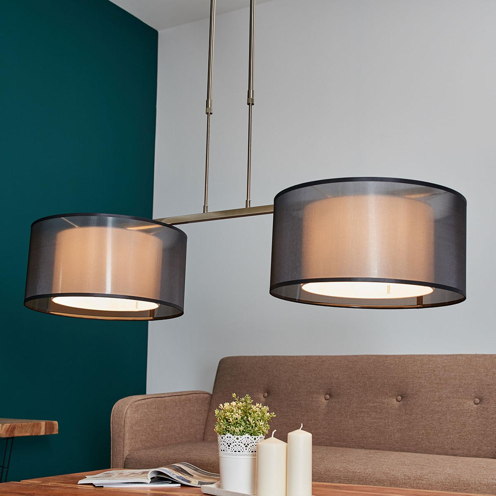 Tessuto - in hoogte verstelbare hanglamp