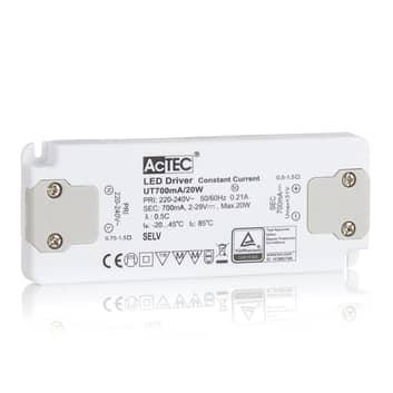 AcTEC Slim LED-drivare CC 700mA, 20W