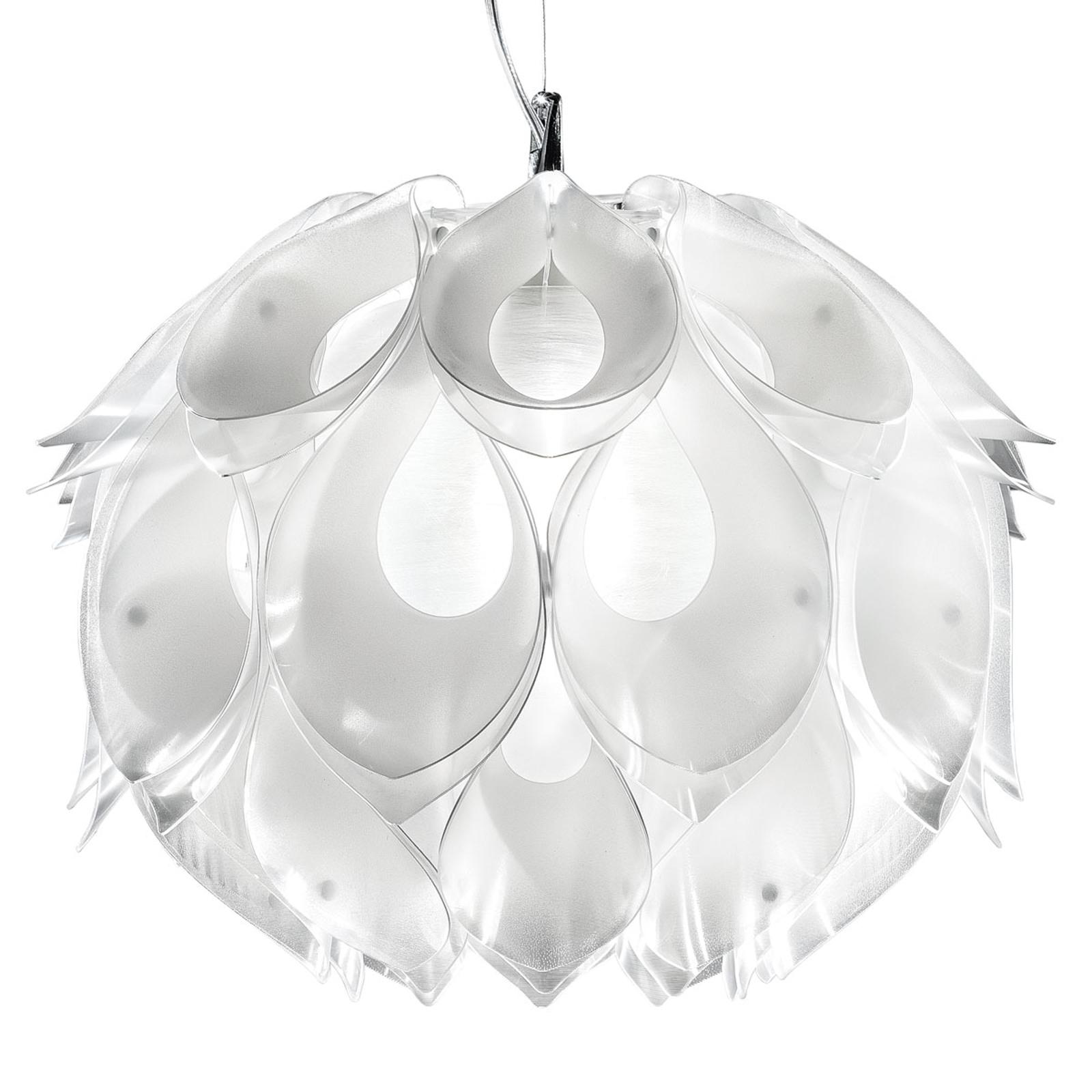 Ekskluzywna lampa wisząca FLORA M, biała