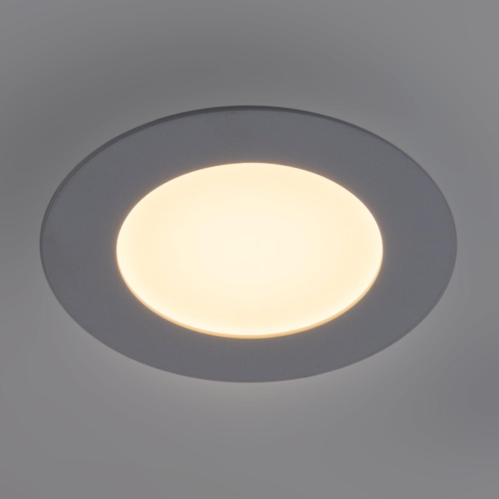 LED panel Lyon, kulatý Ø, 16,8 cm, stmívatelný