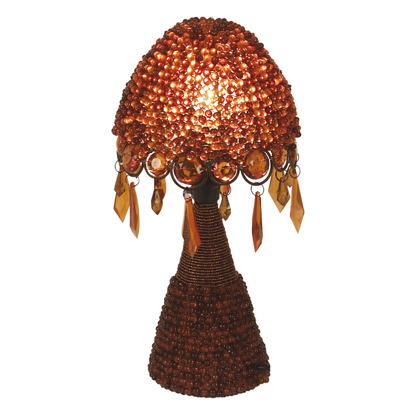 Lampada da tavolo Perla 30 cm rosso