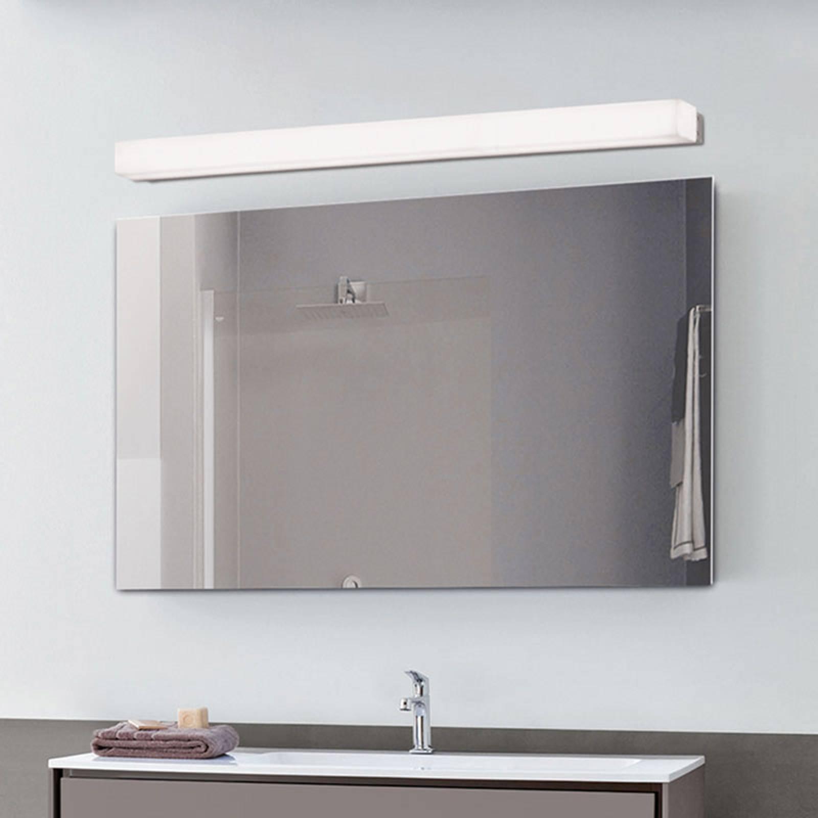 LED-Bad-Wandleuchte Box, 3.000 K, Breite 89 cm