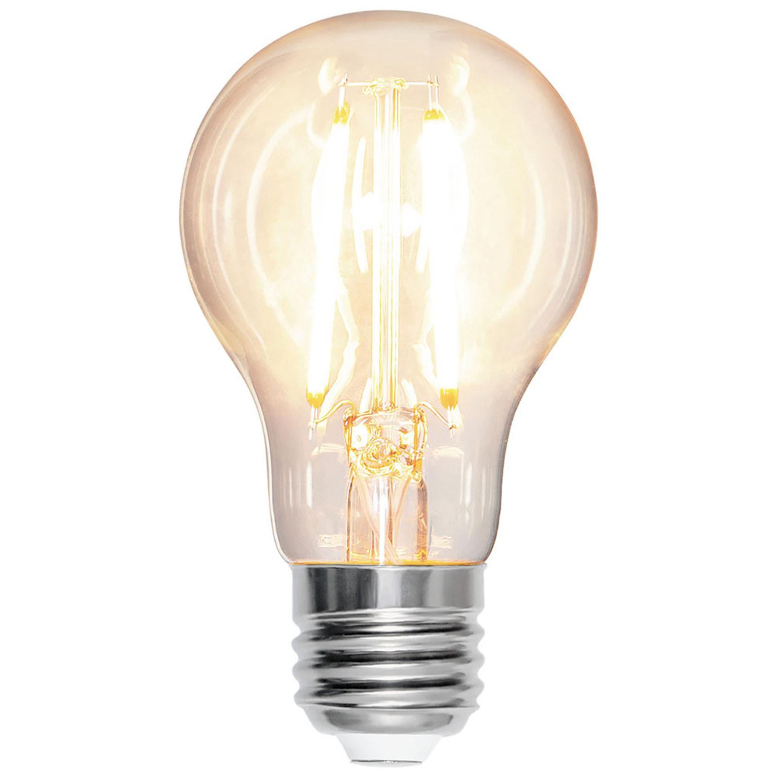 LED lamp E27 A60 7W 2.700K filament 810lm