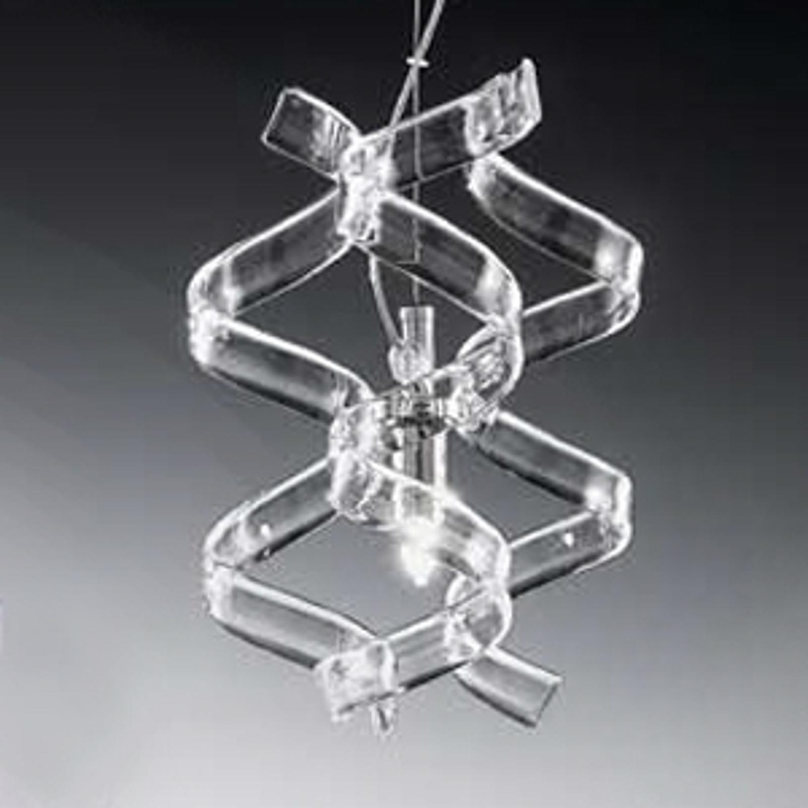 Modna lampa wisząca Crystal