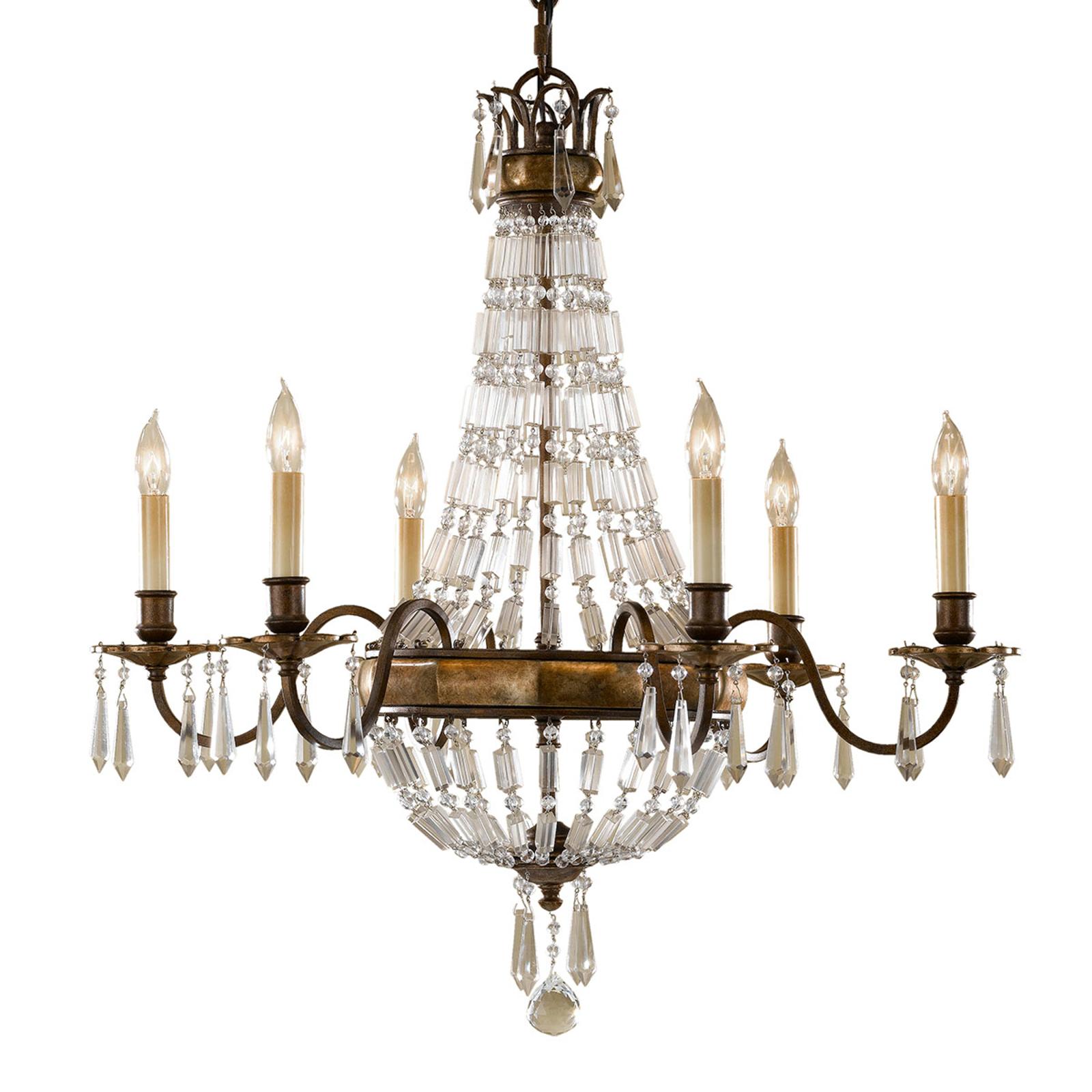 Bellini - lysekrone med antikk virkning