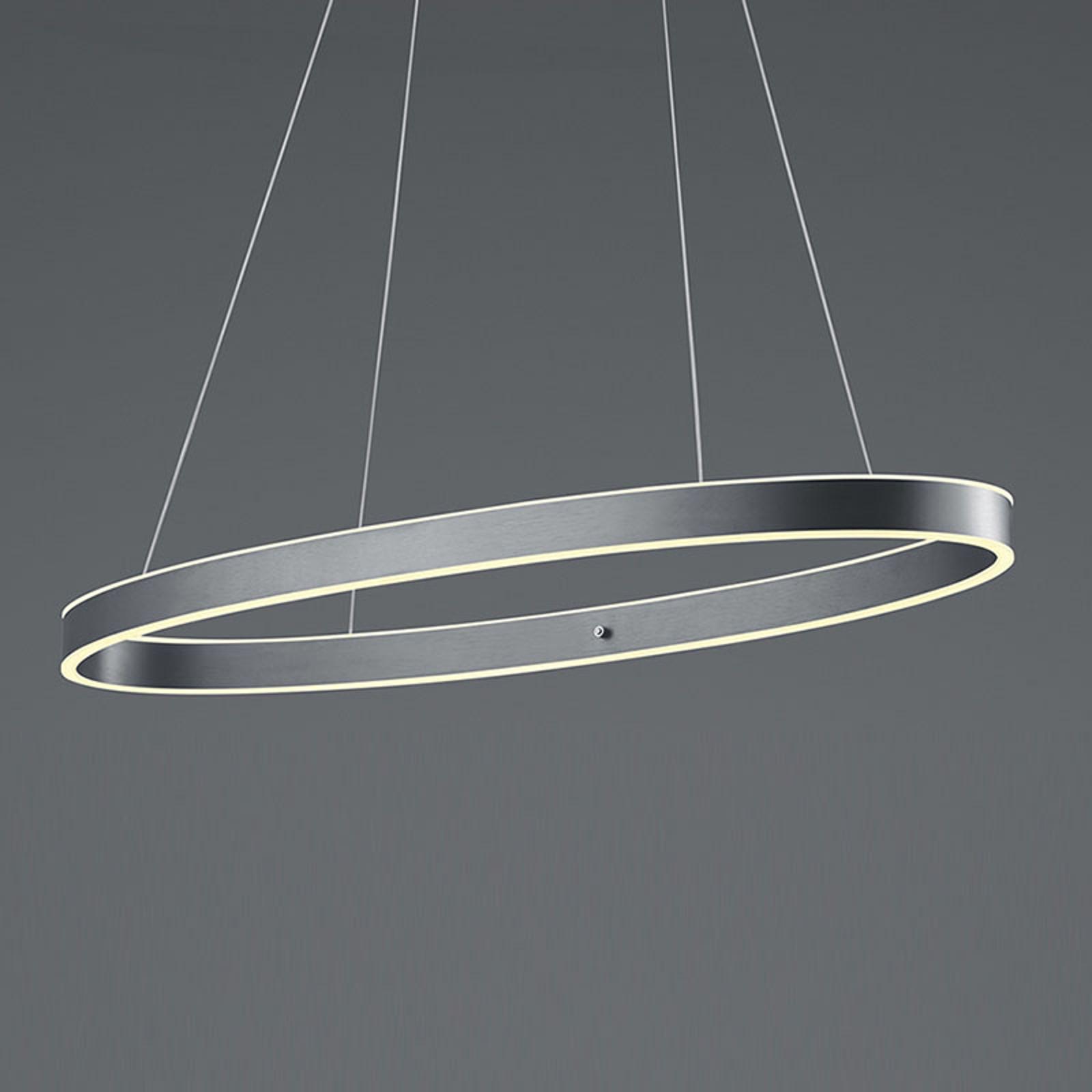 B-Leuchten Delta lampa wisząca LED, antracyt
