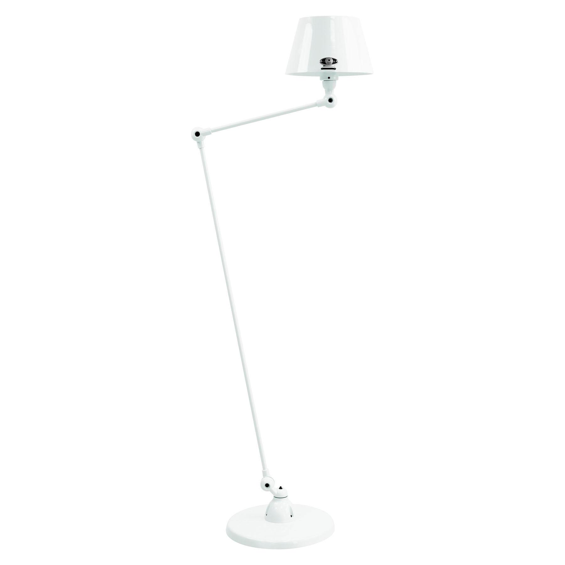 Jieldé Aicler AID833 80+30cm vloerlamp, wit