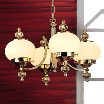 Klassisk ljuskrona Ophelia, 4 ljuskällor