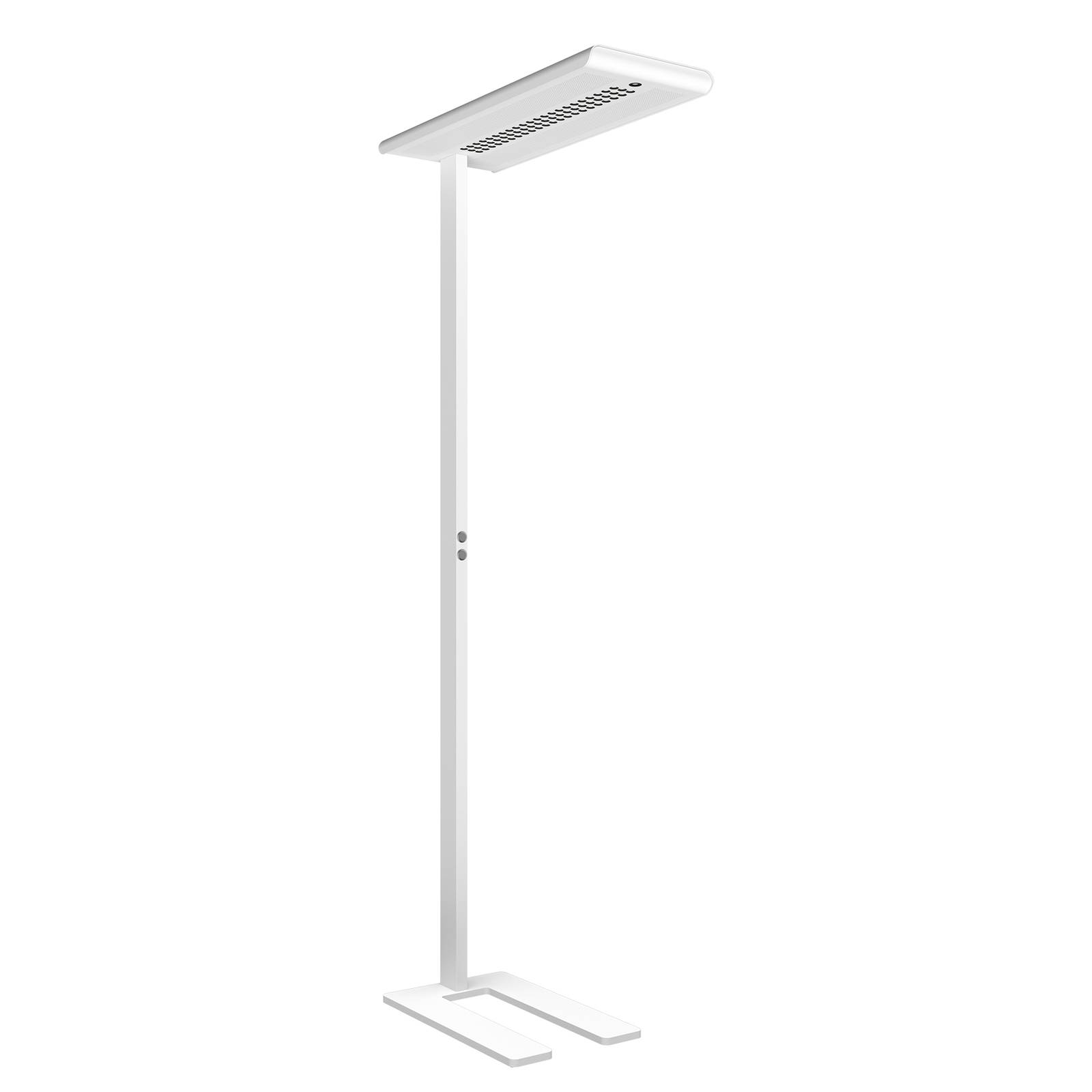 LED-Stehleuchte Optico weiß 840 85,5W Sensorik