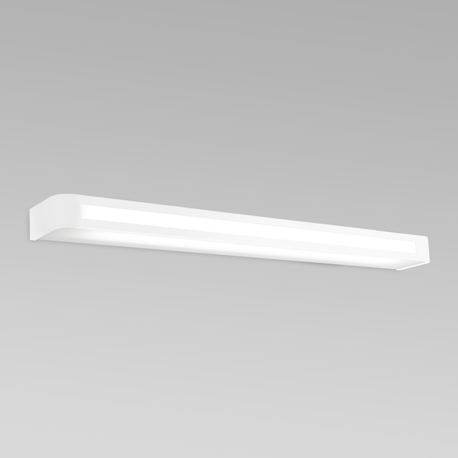 Tijdloze LED wandlamp Arcos, IP20 90 cm, wit