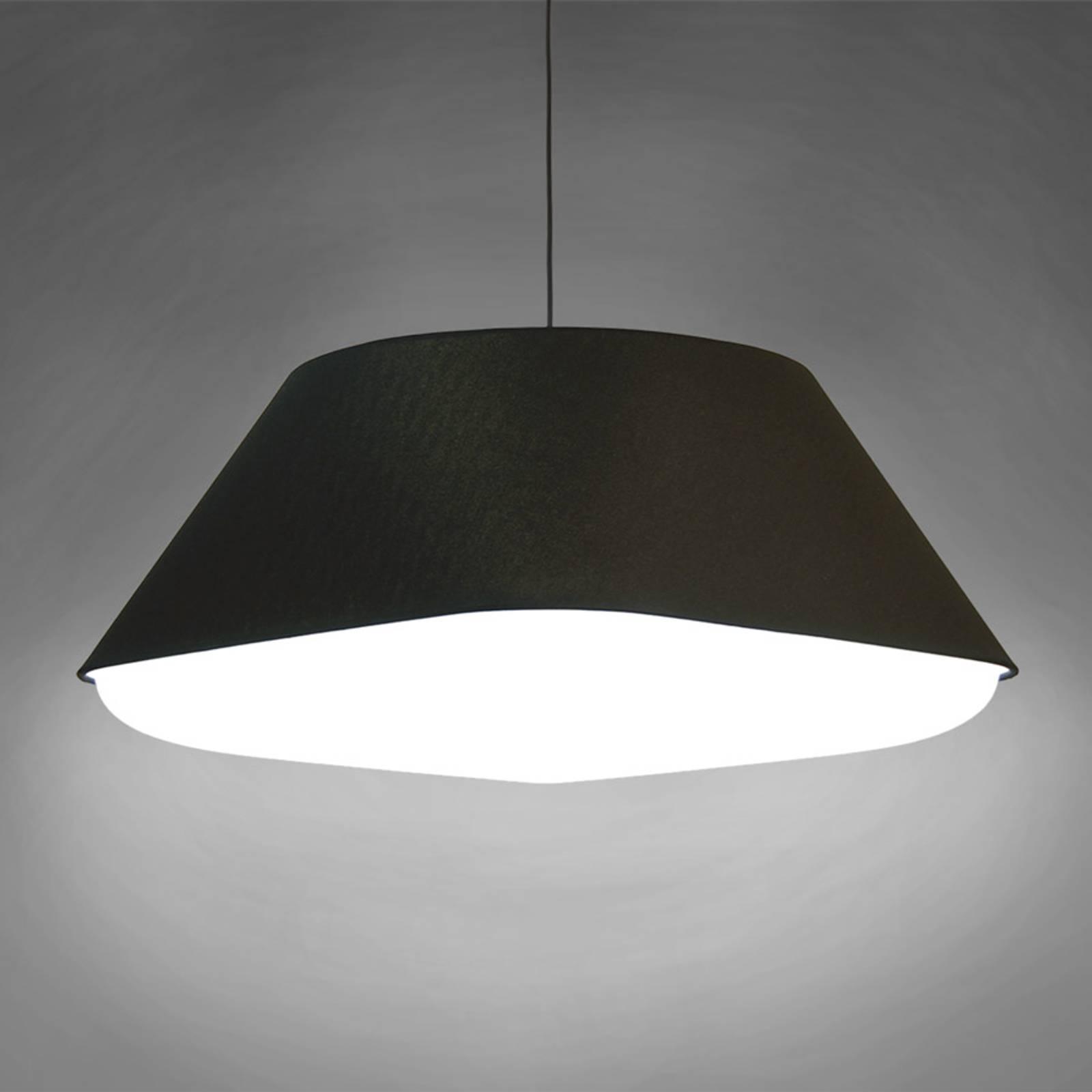 Innermost RD2SQ 60 - textiel-hanglamp, zwart