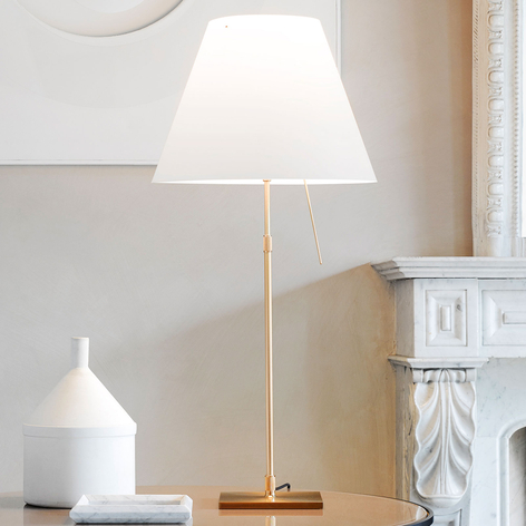Luceplan Costanza lampada da tavolo D13 ottone
