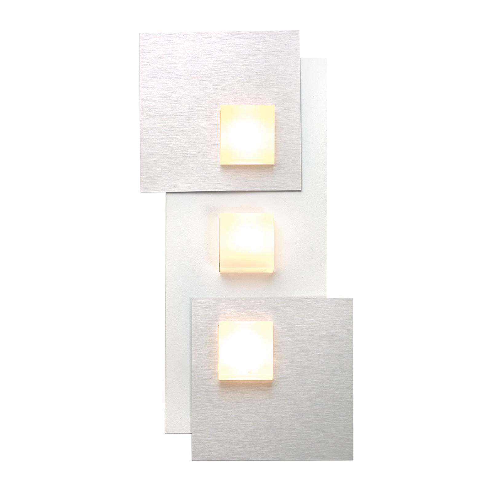 Bopp Pixel 3.0 LED-taklampe 2 lyskilder alu