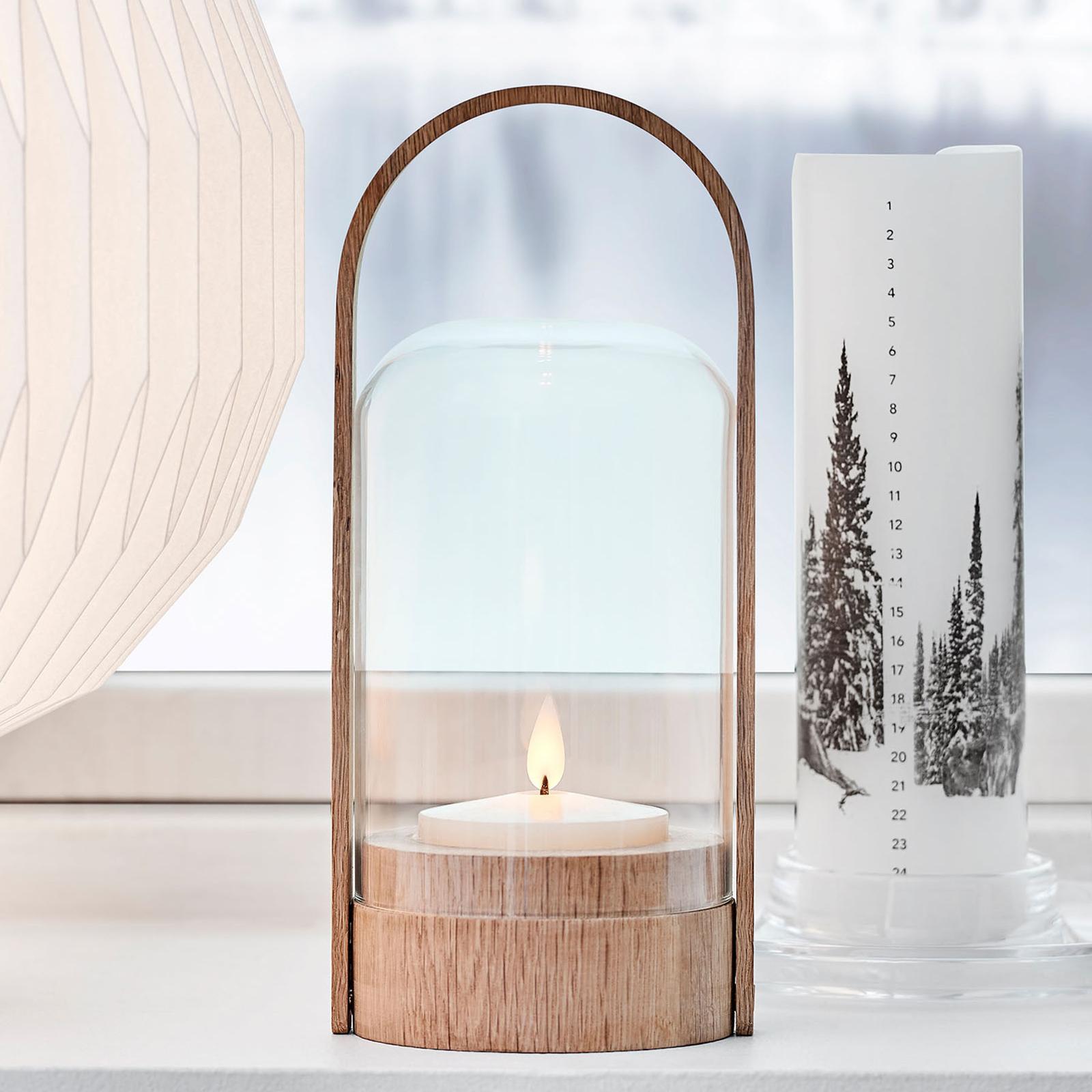 LE KLINT Candle Light LED lucerna, dub