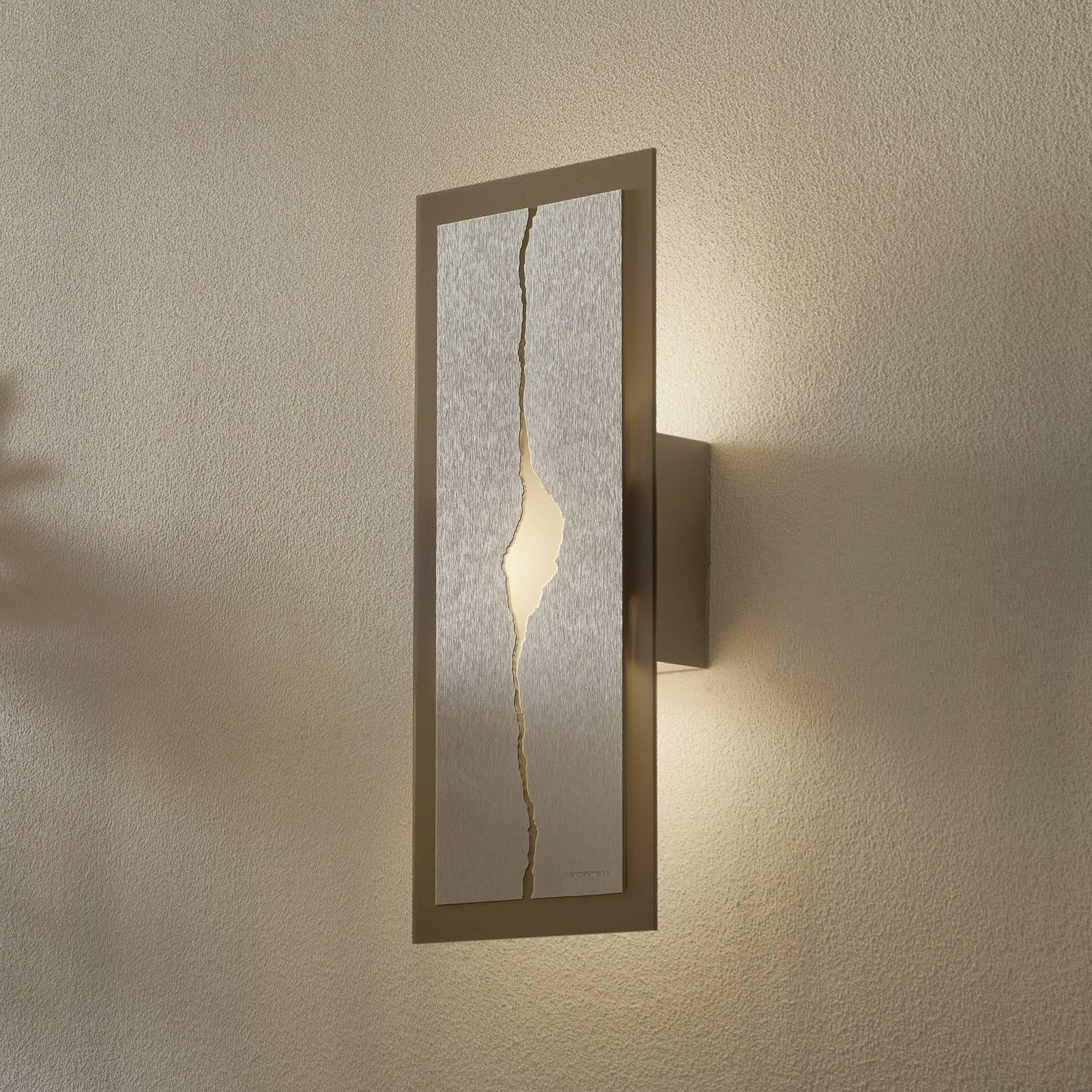 GROSSMANN Canyon LED-Wandleuchte, 42 x 18 cm