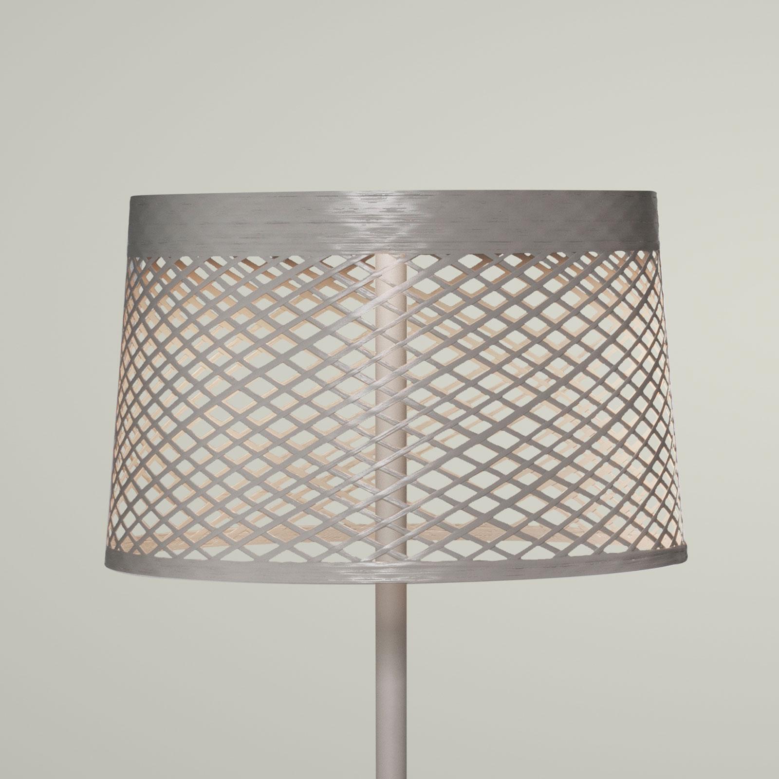Foscarini Twiggy Grid lettura lampa stojąca greige