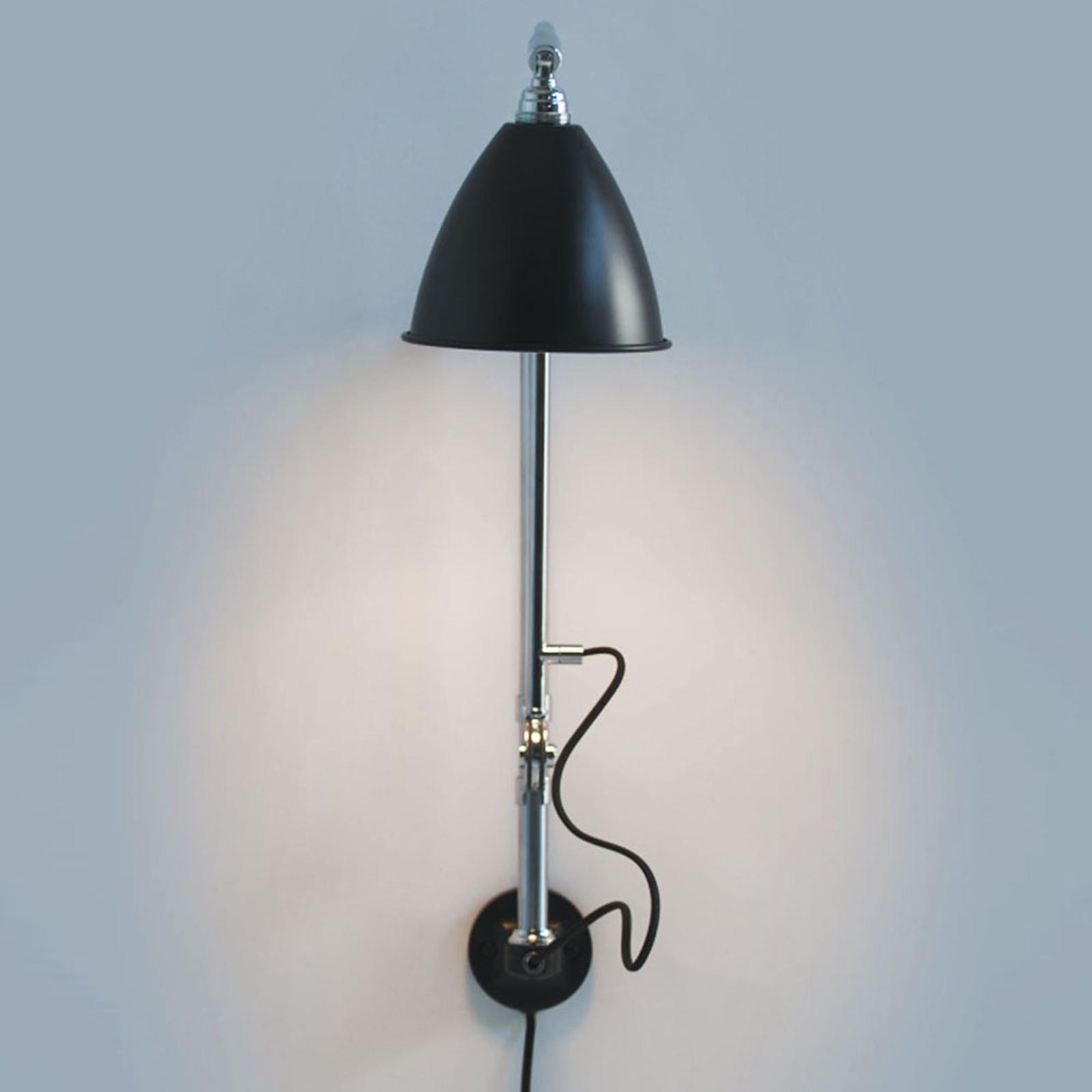 GUBI Bestlite BL5 wandlamp chroom/zwart
