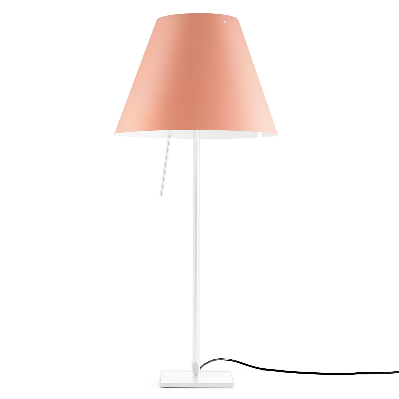 Luceplan Costanza Tischlampe D13if weiß/rosa