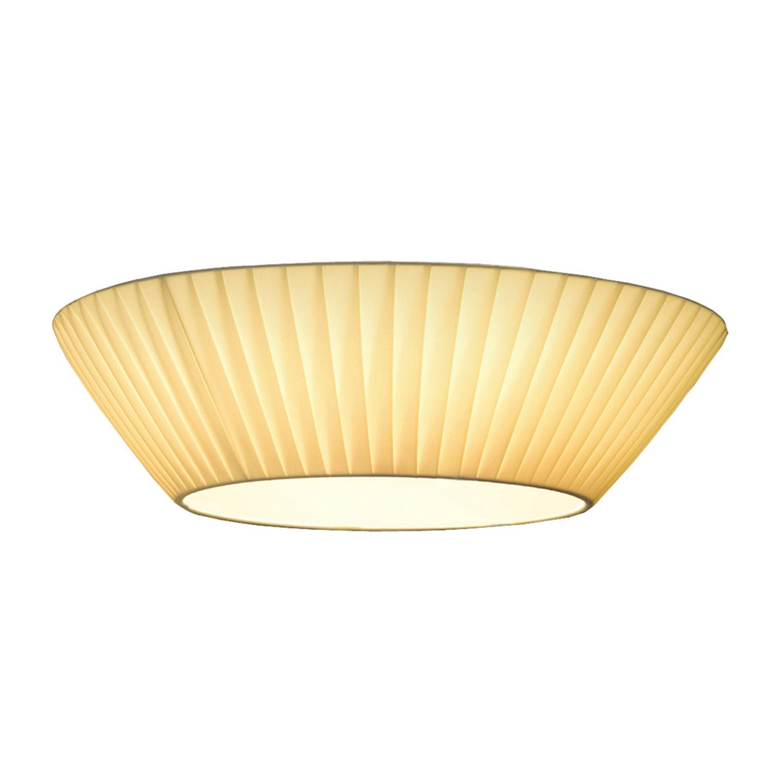 Eenvoudige plafondlamp Emma, diameter 50 cm, beige
