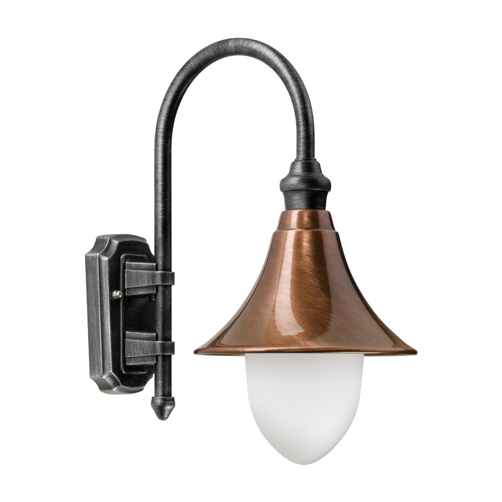 Klassiek-moderne buitenwandlamp Elisa