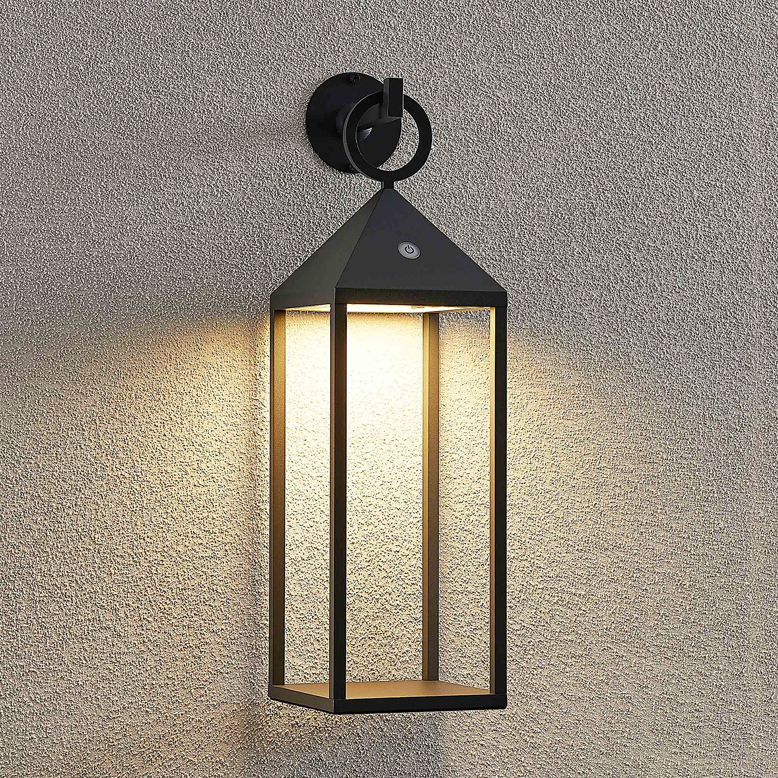 Lucande Aviel LED-Außenwandleuchte, portabel