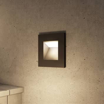 Arcchio Zamo LED-innfellingslampe, svart