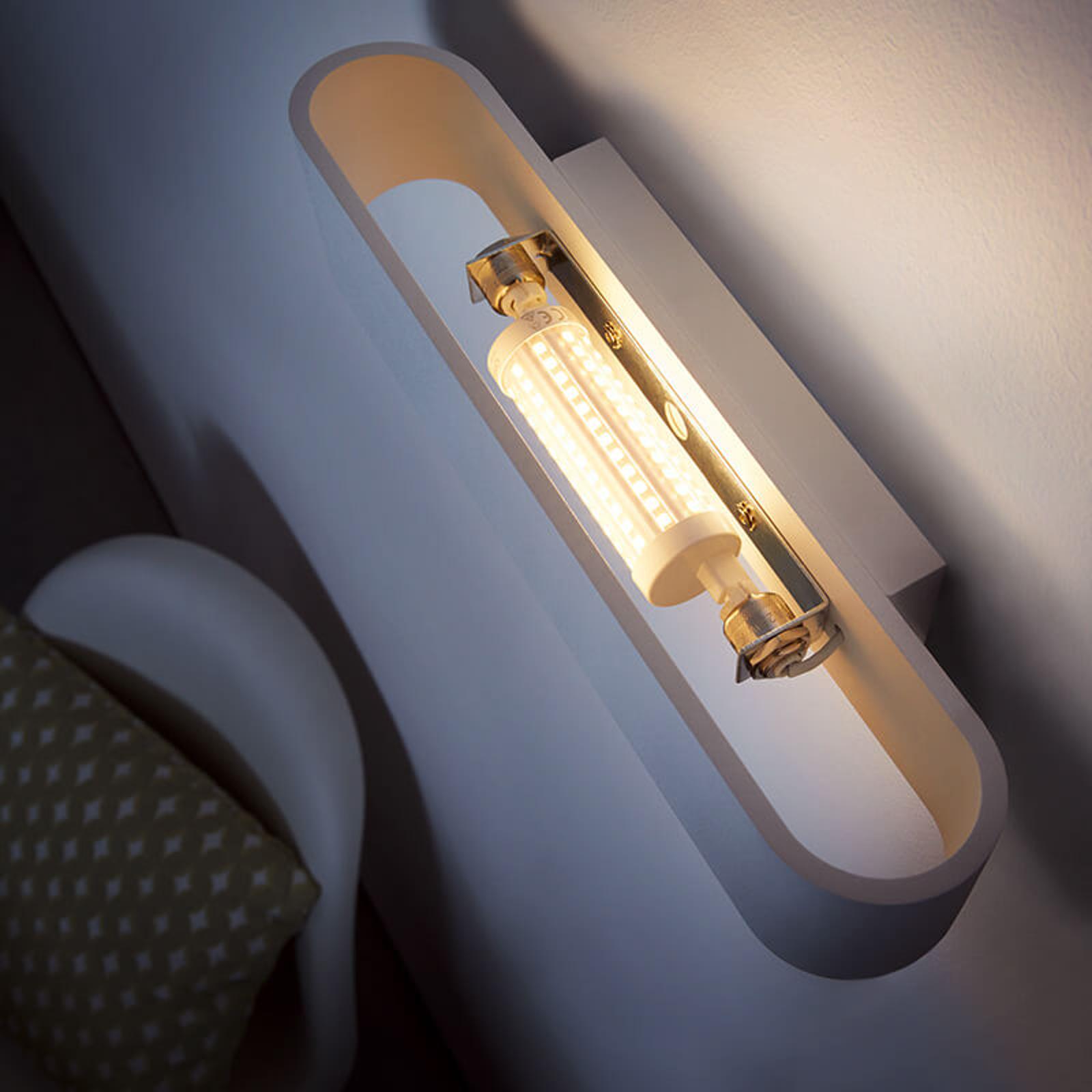 LED-stav R7s 8 W, varmhvit, dimbar