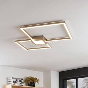 Stropní LED svítidlo Duetto, čtvercové