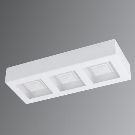Ferreros: 3-lamppuinen valkoinen LED-kattovalaisin