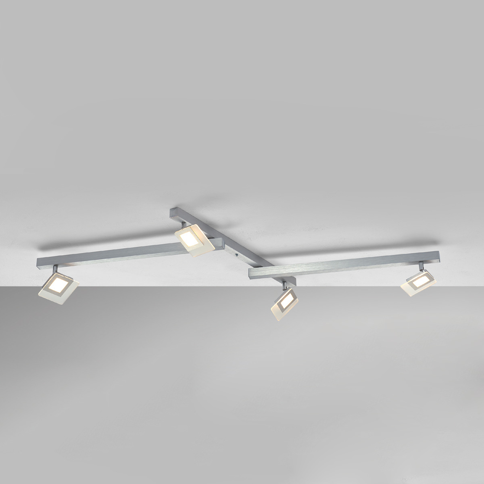 Eksklusiv LED-loftslampe Line, 4 lyskilder