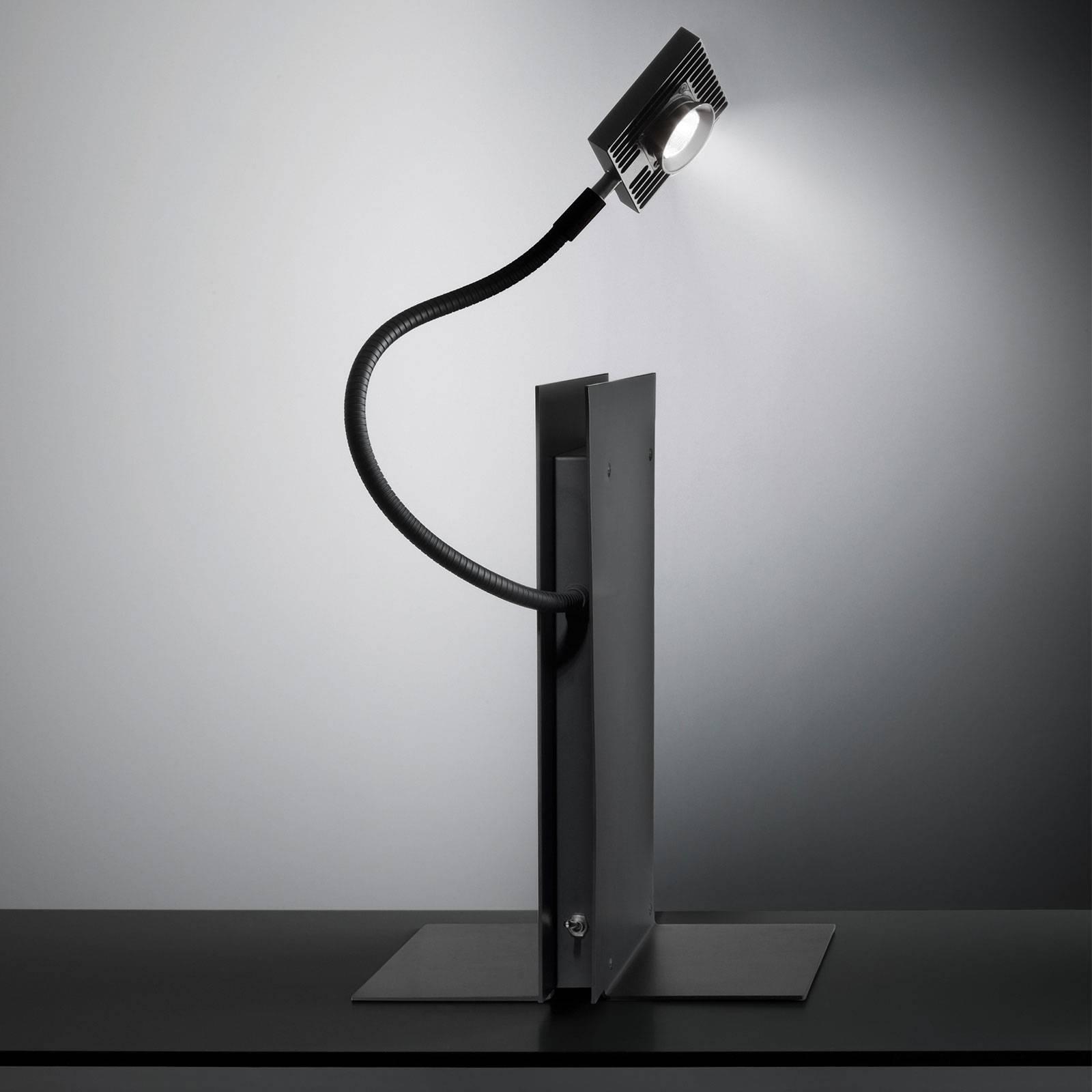 Ingo Maurer LED's Oskar tafellamp, zwart