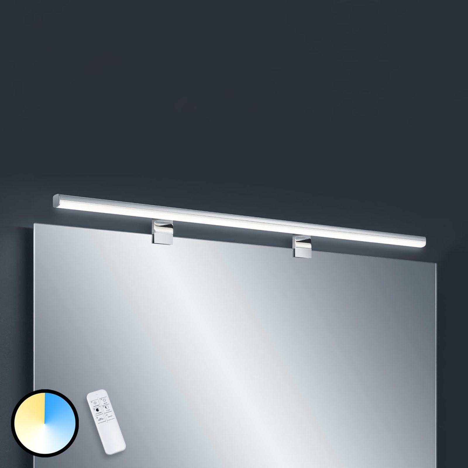 Applique LED Gaia, 99cm, télécommande