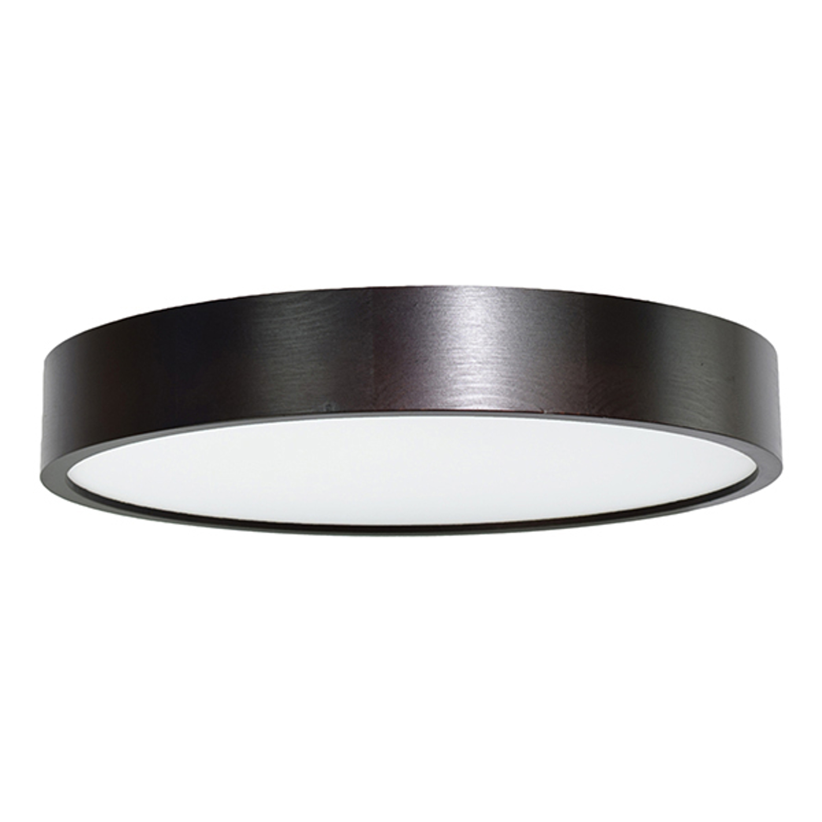 LED-taklampe Cleo, Ø48cm svart