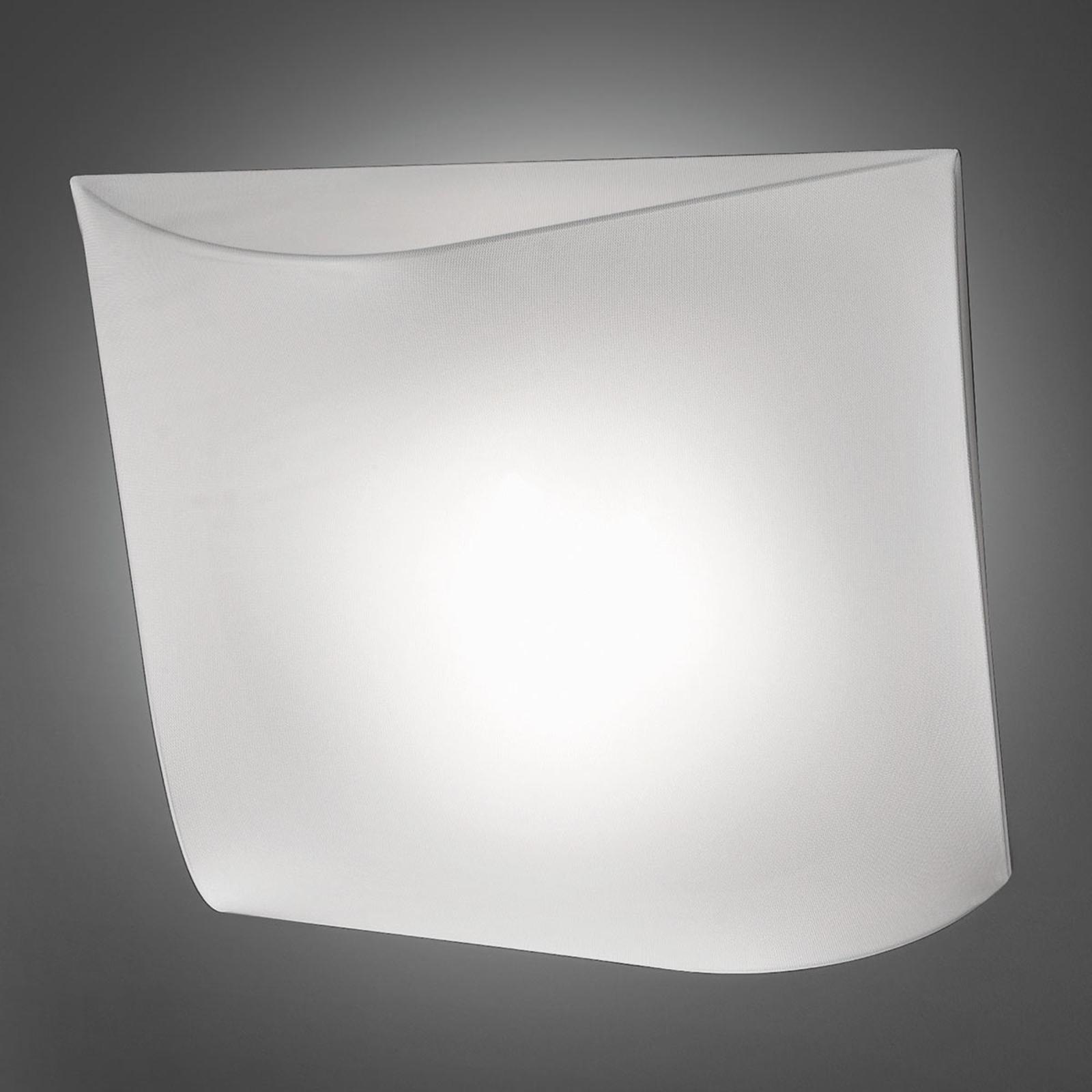 Axolight Stormy Textil-Wandleuchte weiß 100 cm