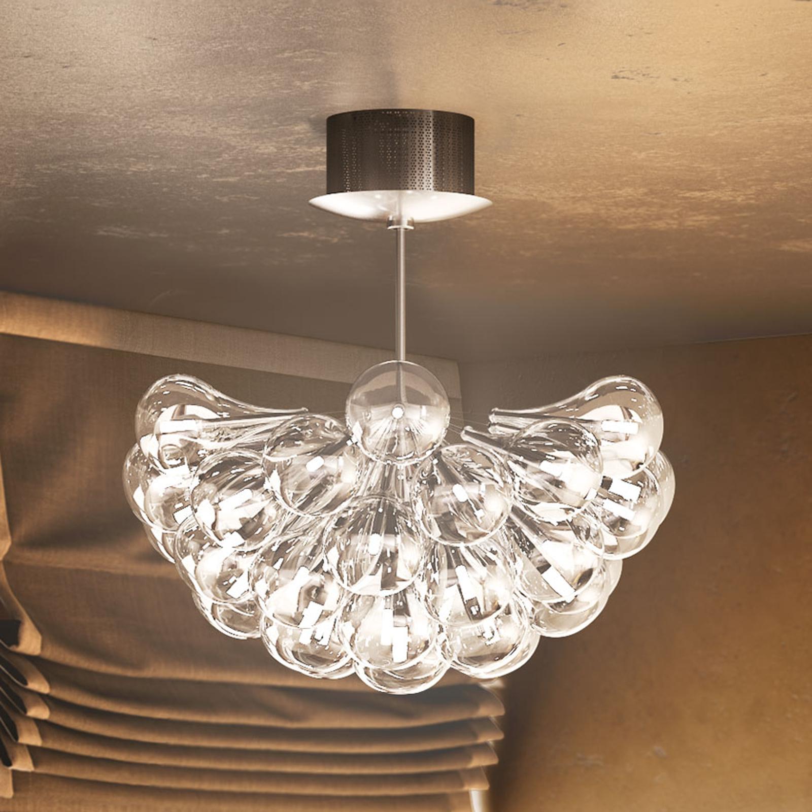 LED-hänglampa Drop S, 37 lampor