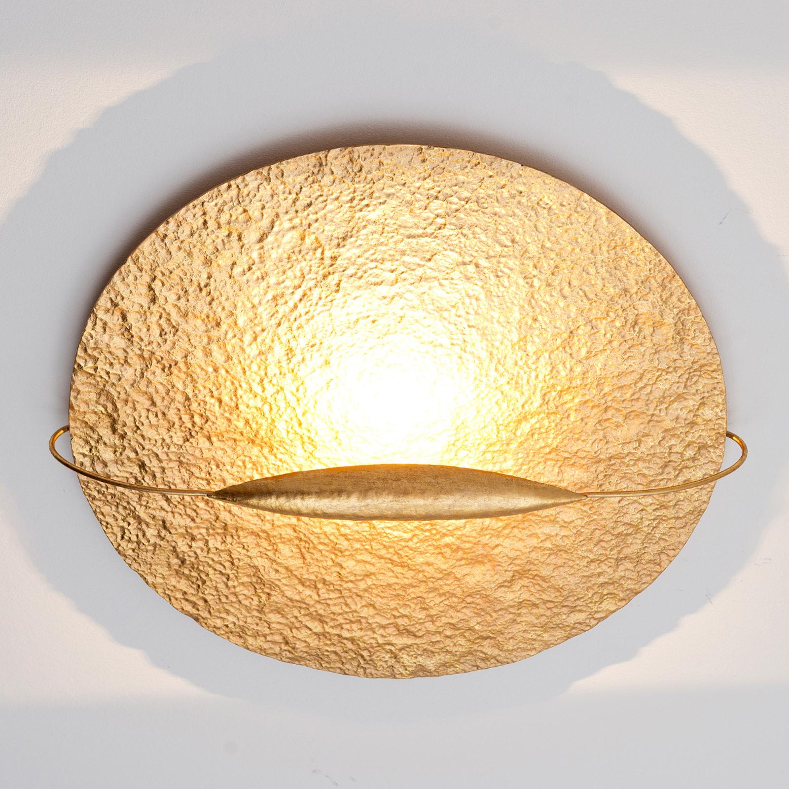 Plafoniera LED dorata Trabant