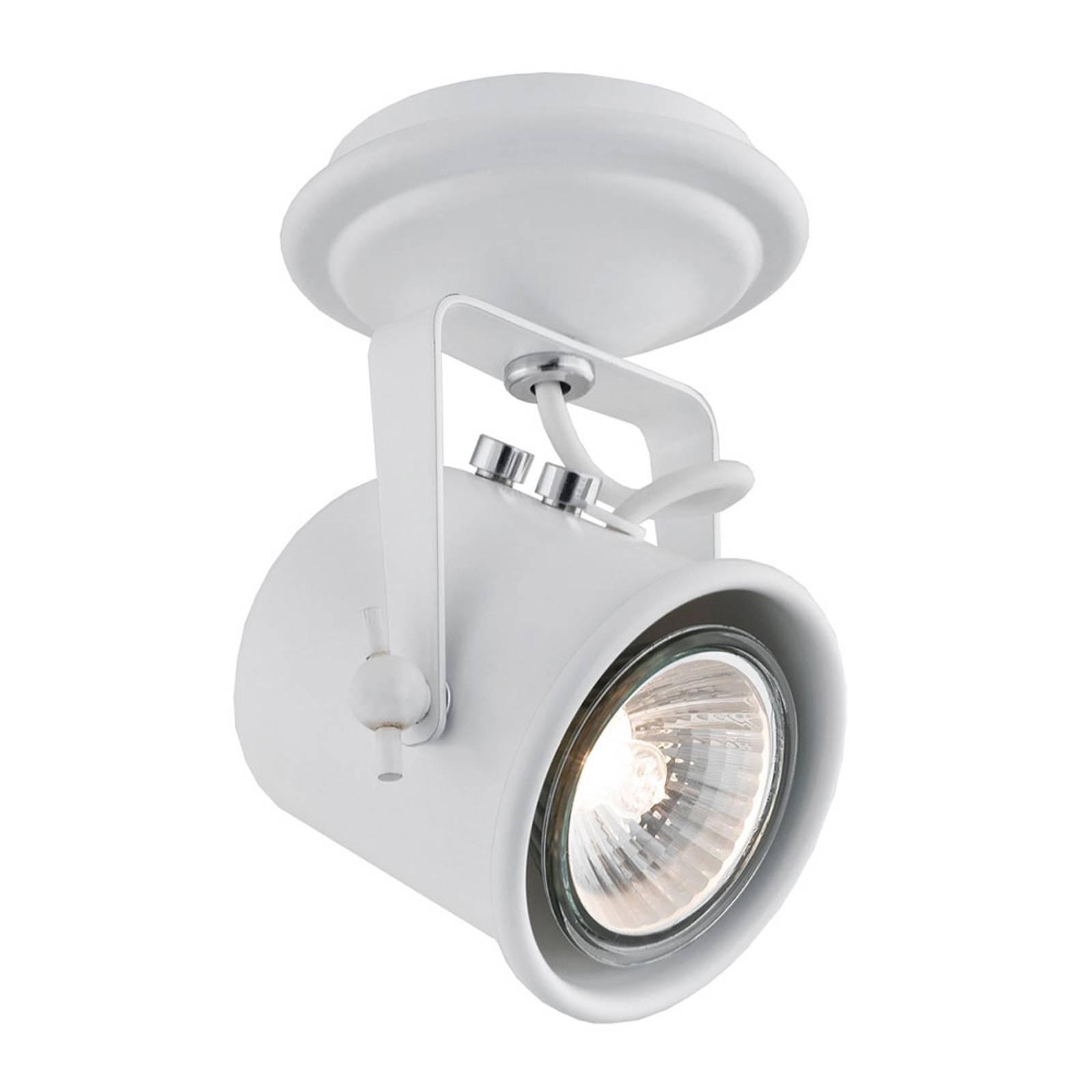 Faretto a soffitto Canico, 1 luce, bianco