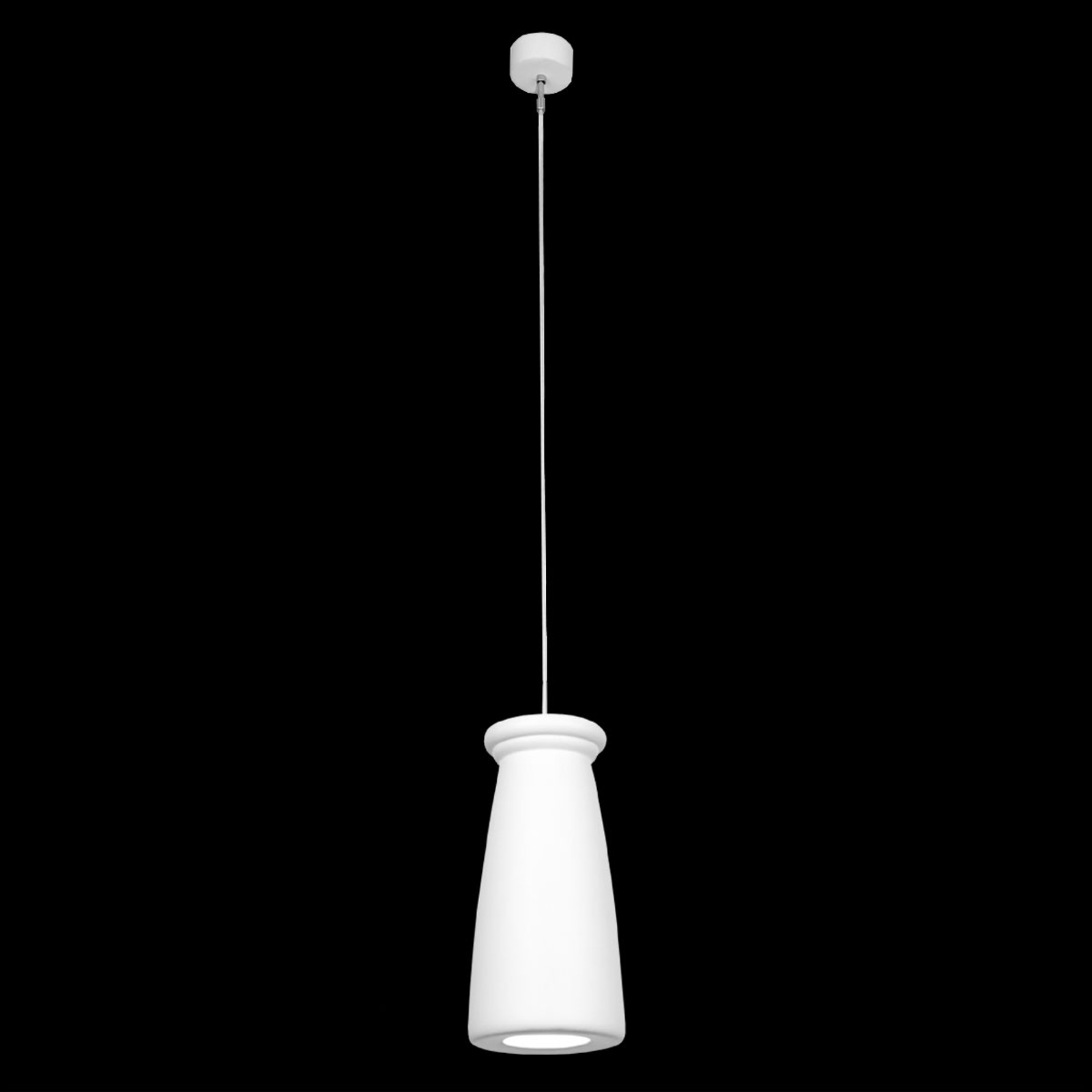 Delikate hanglamp Biscuit, smal