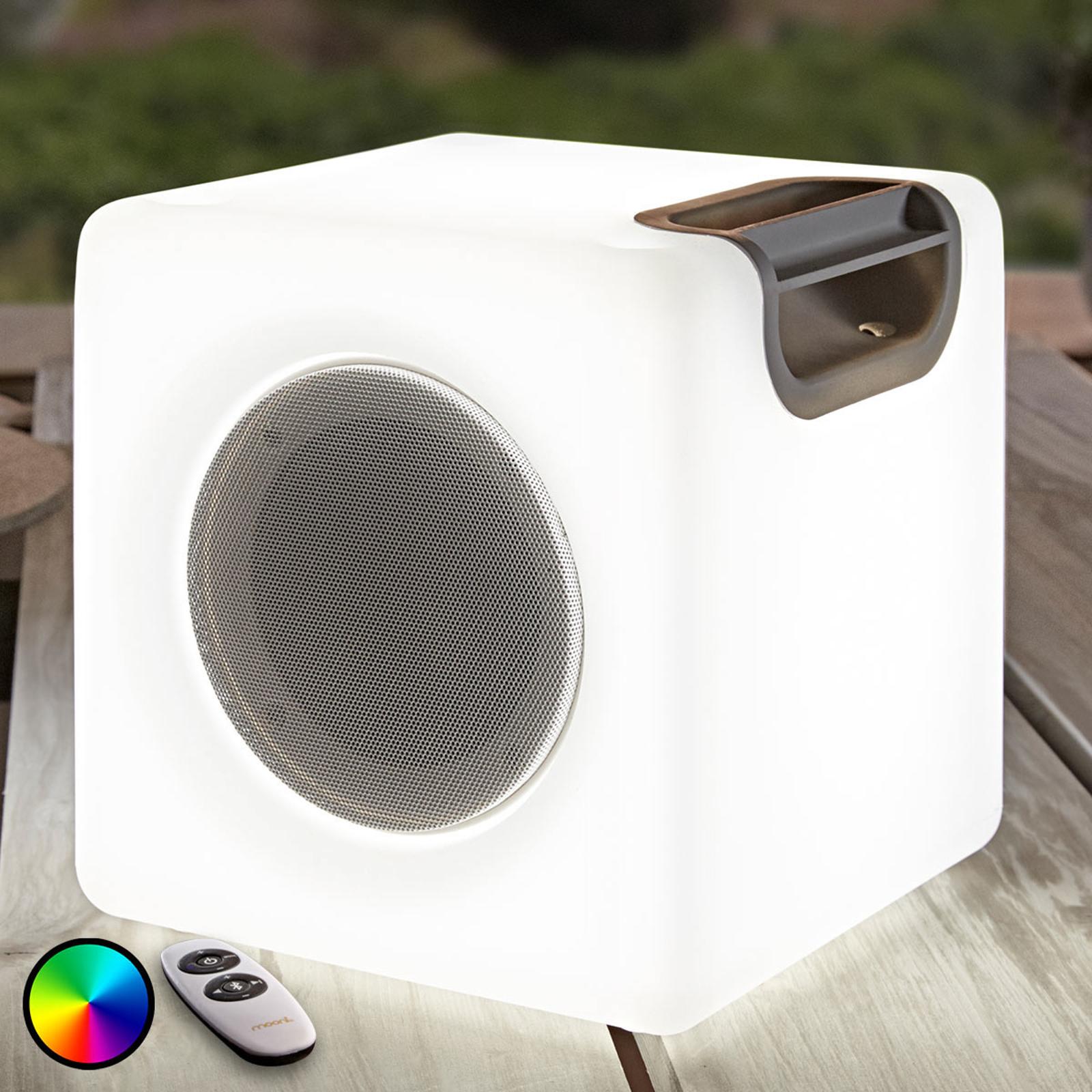 Høyttaler Angelana med RGB-LEDs, IP44