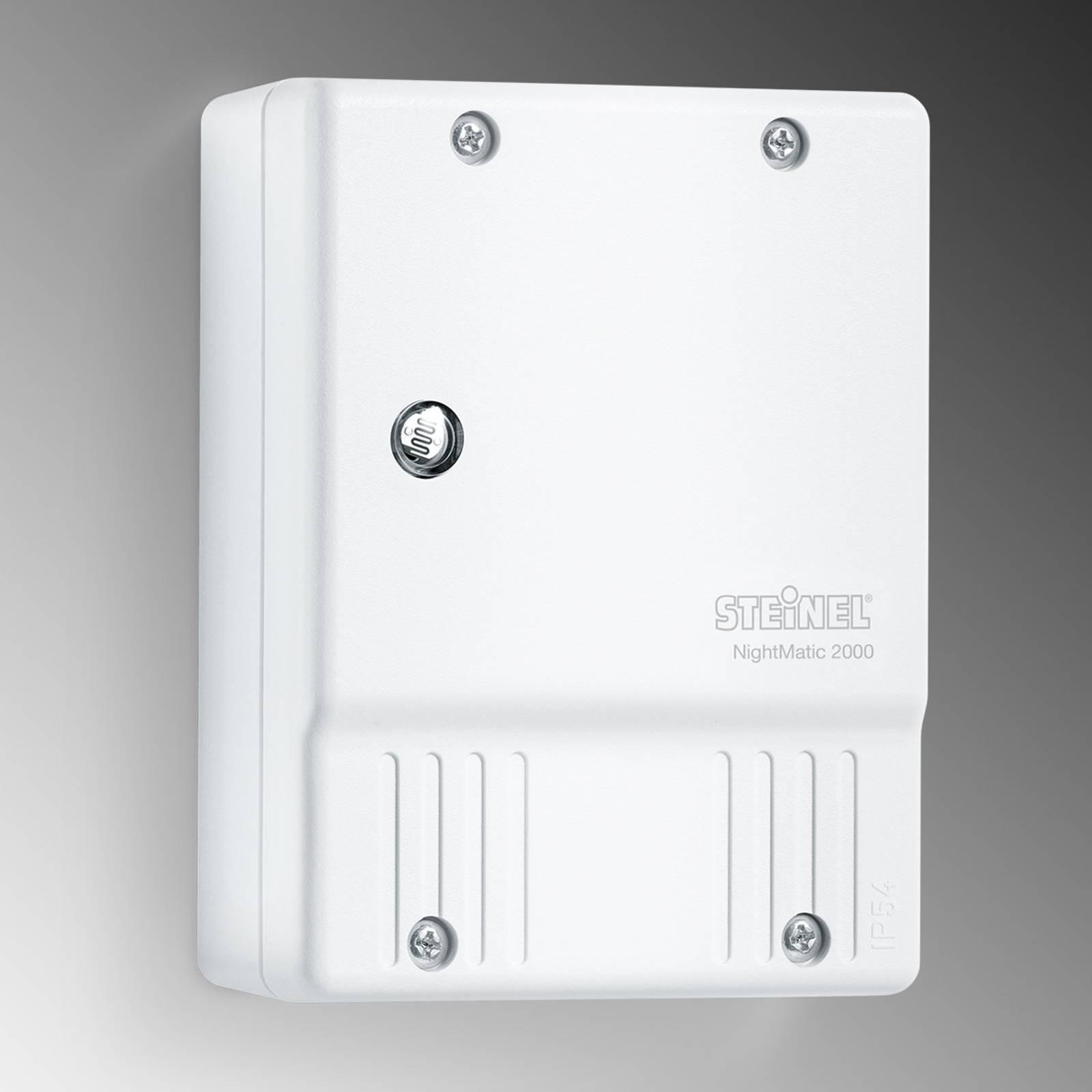STEINEL Nightmatic 2000 crepuscolare, bianco