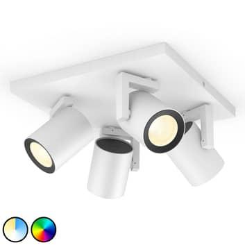 Philips Hue Argenta LED-spot, 4 lyskilder
