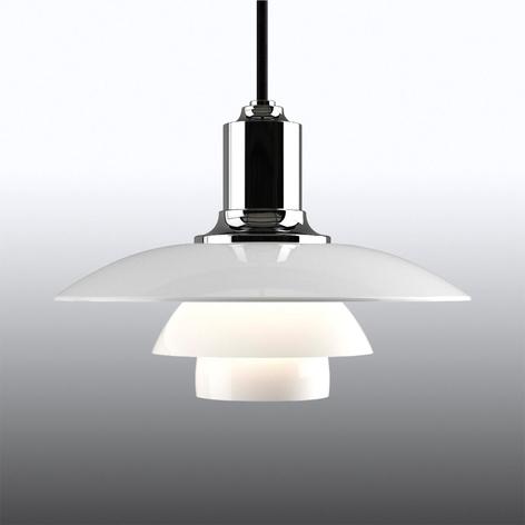 Hanglamp PH 2/1 m. drievoudige glazen kap